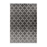 Kayoom Vloerkleed 'Monroe 100' kleur antraciet, 80 x 150cm