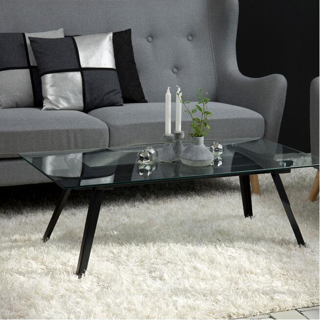 Bendt Glazen Salontafel 'Gitte' 120 x 60cm