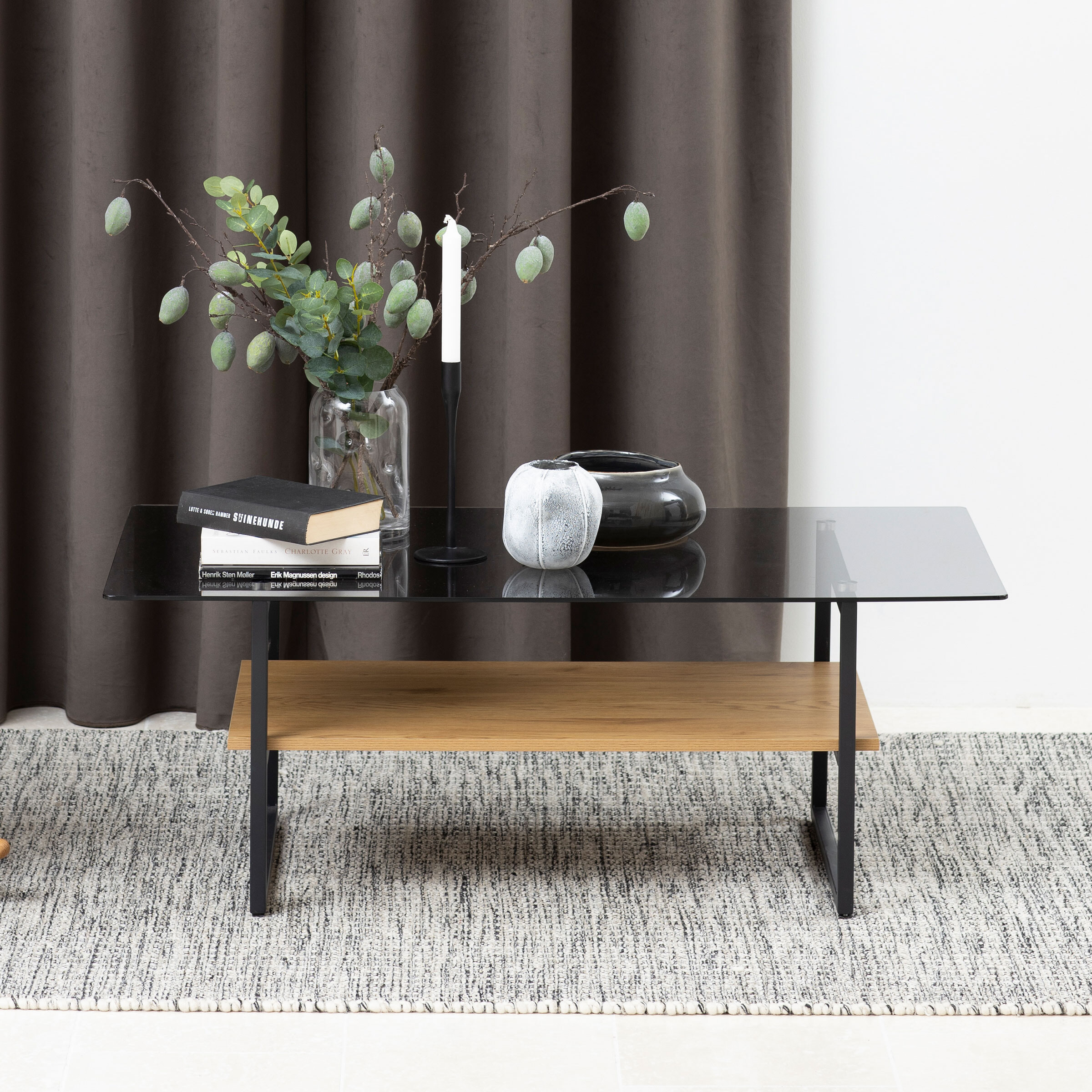 Bendt Salontafel 'Bruno' Eiken, 110 x 60cm, kleur Hout