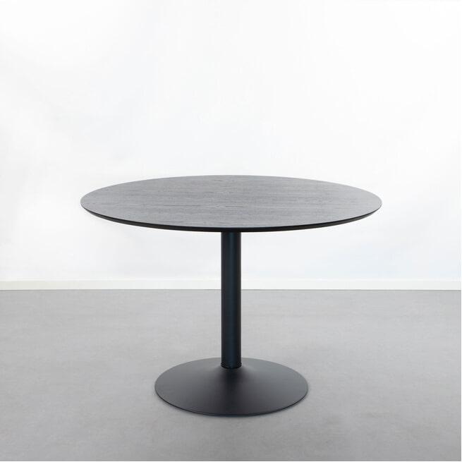 Sohome Ronde Eettafel 'Elsa' 110cm, kleur Zwart