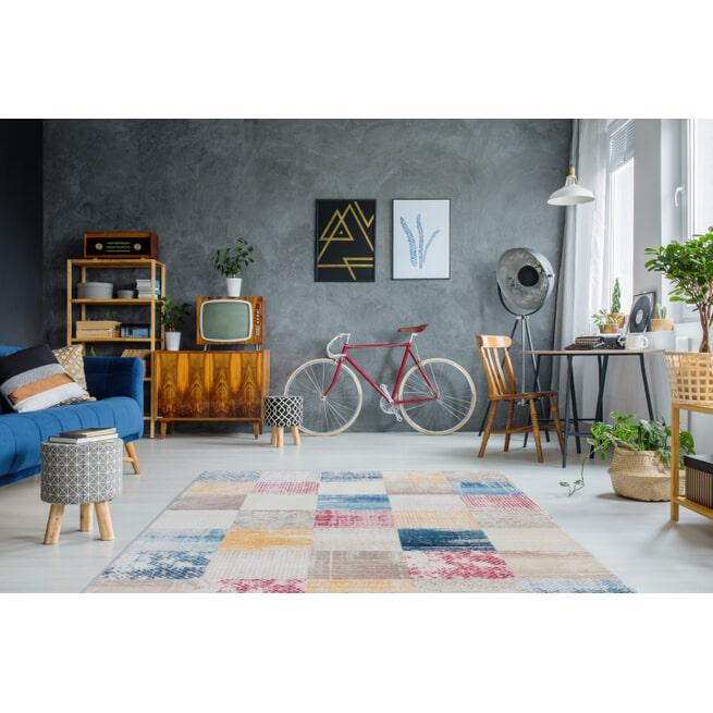 Kayoom Vloerkleed 'Antigua 600' kleur multicolor