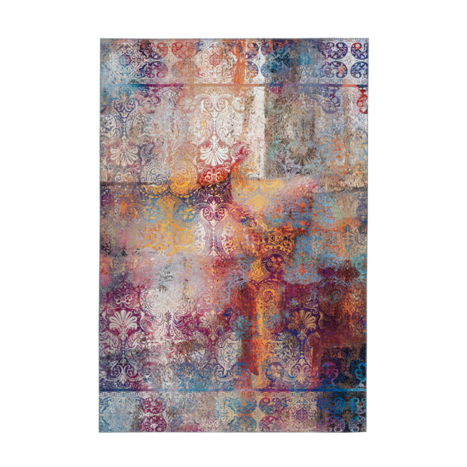 Kayoom Vloerkleed 'Galaxy 100' kleur Multicolor