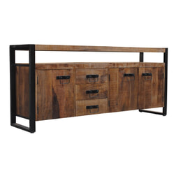 LivingFurn Dressoir 'Strong' 180cm met 3 laden