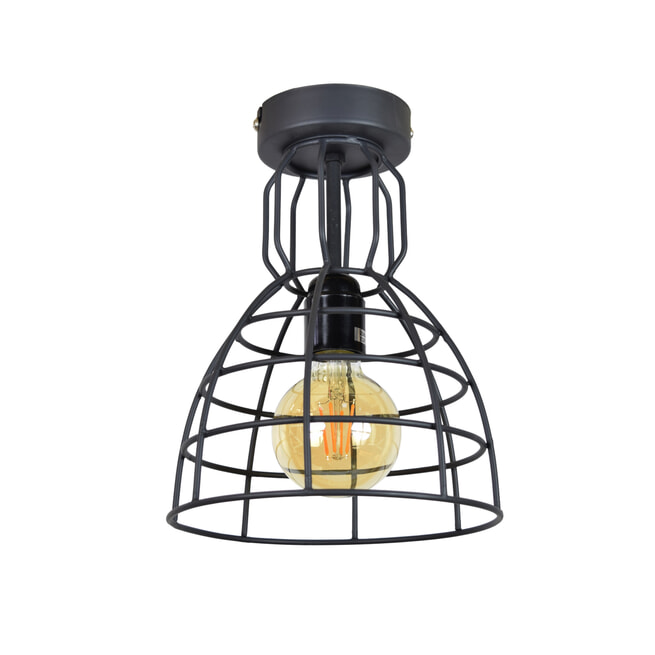 Urban Interiors plafondlamp Francis Ø20x28 Small, kleur Vintage Black