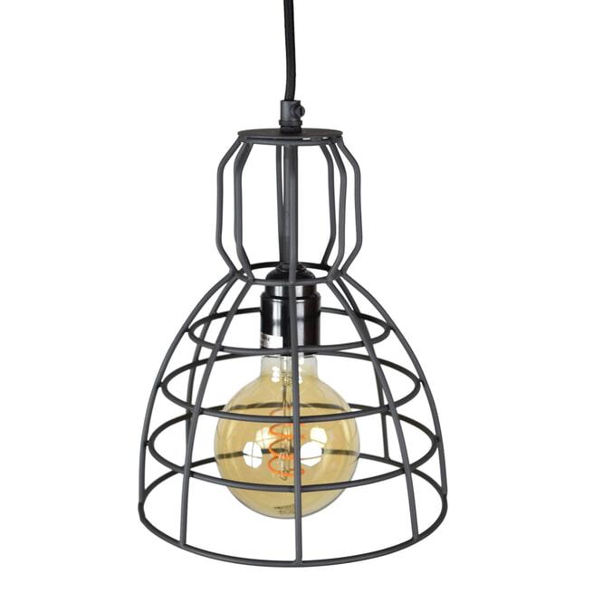 Urban Interiors hanglamp Francis 1-lichts Ø20x28, kleur Vintage Black