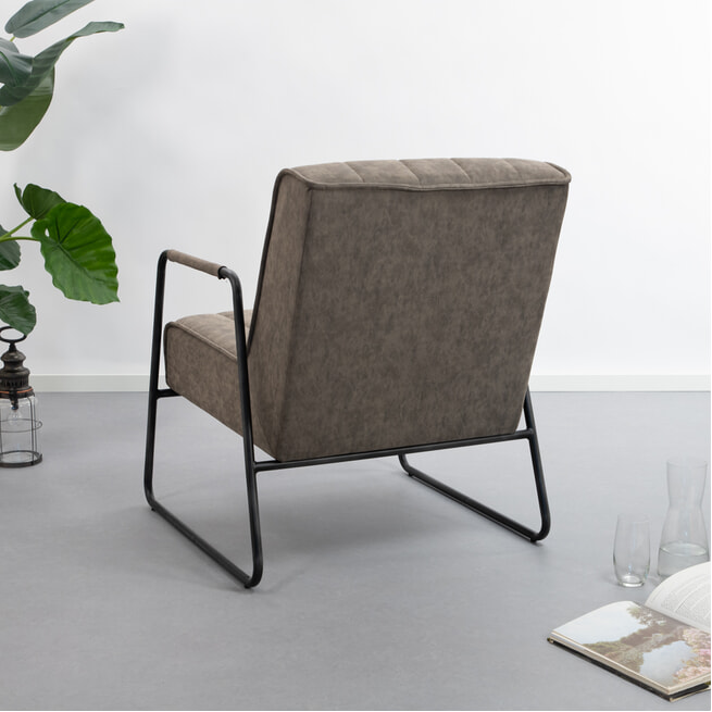 Tower Living Fauteuil 'Santo'