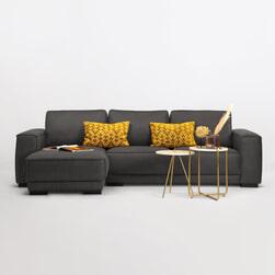 Sohome Loungebank 'Stacie' Kleur Antraciet