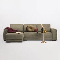 Sohome Loungebank 'Stacie' Links, kleur army
