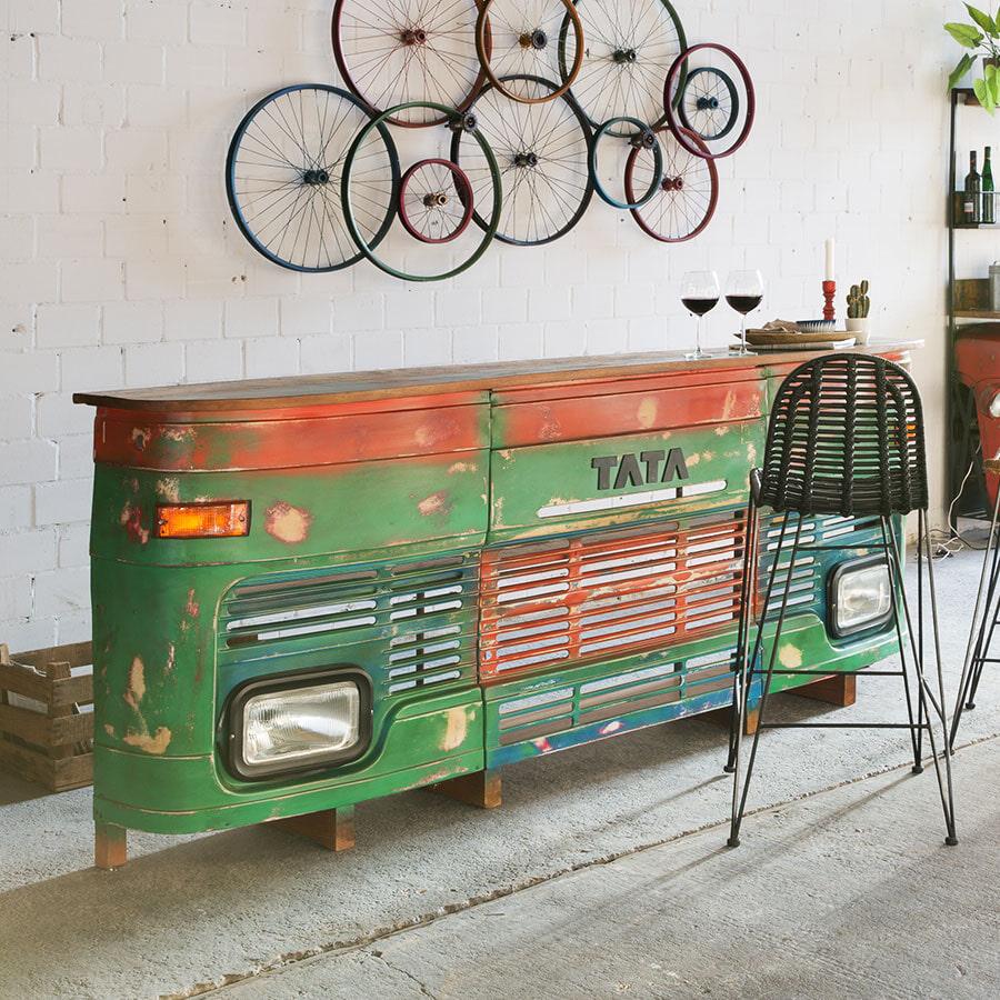 Artistiq Bar Tata 250cm, kleur groen