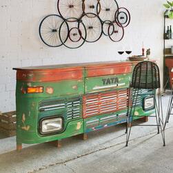 Artistiq Bar 'Tata' 250cm, kleur groen