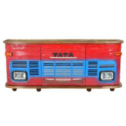 Artistiq Bar 'Tata' Truck, kleur rood