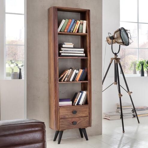 Artistiq Boekenkast 'Knob' met 2 laden