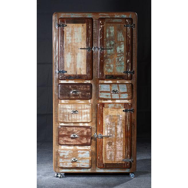 Artistiq Opbergkast 'Fridge' met 3 deuren en 5 laden