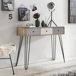 Artistiq Side-table 'Mailbox' 99cm breed