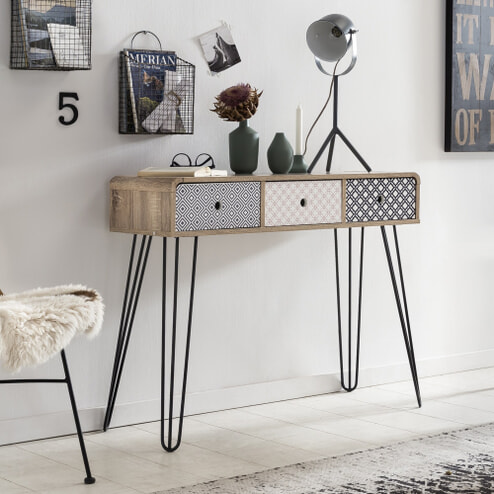 Artistiq Side-table 'Mailbox' 99cm breed
