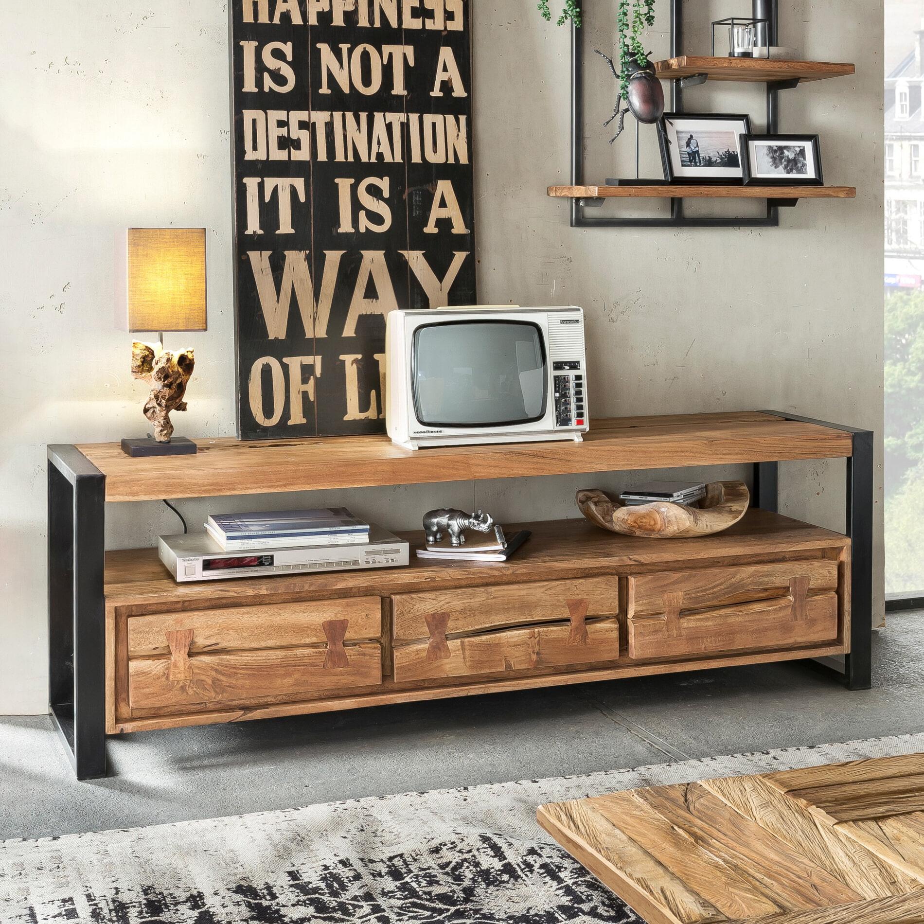 Artistiq TV meubel 'Live Edge' 160cm