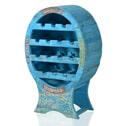 Artistiq Wijnkast 'Blue' voor 14 flessen