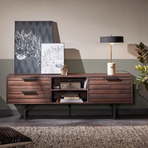 Kave Home TV-meubel 'Atalia' 160cm