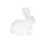 Kayoom Vloerkleed 'Konijn' kleur Wit, 80 x 90cm