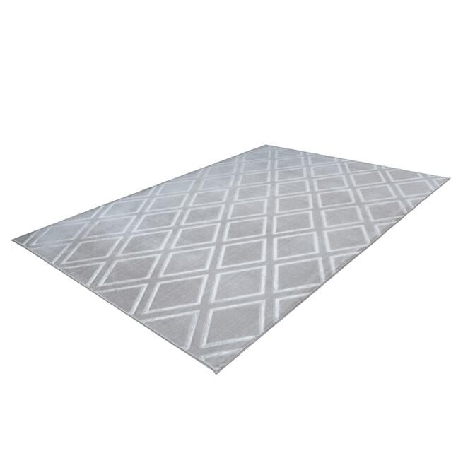Kayoom Vloerkleed 'Monroe 300' kleur grijs
