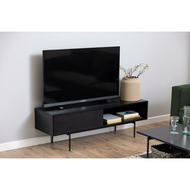 Bendt TV-meubel 'Mick' 140cm, kleur Zwart