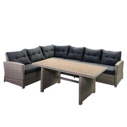SenS-Line Loungeset 'Bari' met hoge tafel