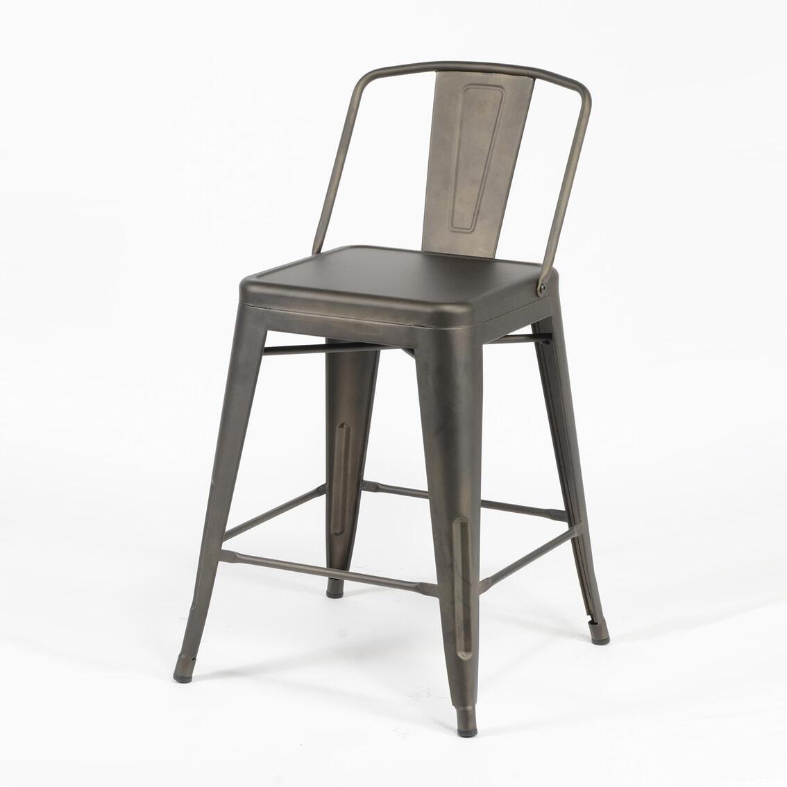 Barstoel 'Bistro' Industrieel (zithoogte 61cm) Zitmeubelen | Barkrukken & Barstoelen vergelijken doe je het voordeligst hier bij Meubelpartner