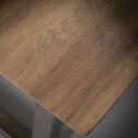 Bartafel 'Ice' 140 x 70cm, kleur eiken brownwash
