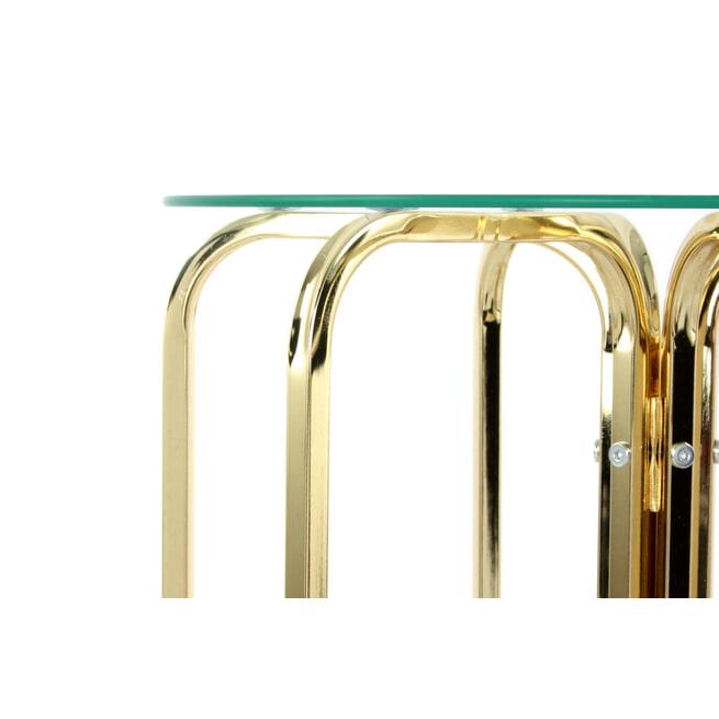 Kayoom Bijzettafel 'Sherryl' 45cm, kleur goud
