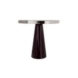 Kayoom Bijzettafel 'Art Deco 625' kleur Berry / Zilver