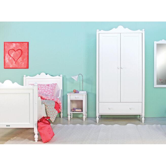 Bopita Nachtkastje 'Belle' kleur wit