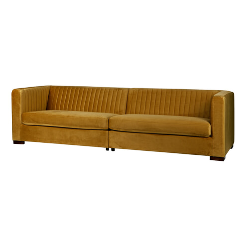 BePureHome Bank 'Nouveau' Velvet XL
