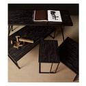 BePureHome Bijzettafel 'Sharing' 60cm, kleur Zwart