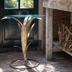 BePureHome Bijzettafel 'Tree' 60cm, kleur Antique Brass
