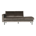 BePureHome Daybed 'Rodeo' Links, Velvet