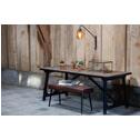 BePureHome Eettafel 'Craft' 190 x 90cm, kleur Zwart