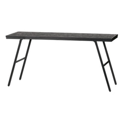 BePureHome Eettafel 'Sharing' 150 x 50cm, kleur Zwart