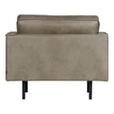 BePureHome Fauteuil 'Rodeo', kleur Elephant Skin