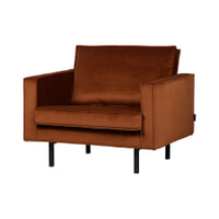 BePureHome Fauteuil 'Rodeo', kleur Roest