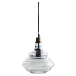 BePureHome Glazen Hanglamp 'Pure', kleur Grijs