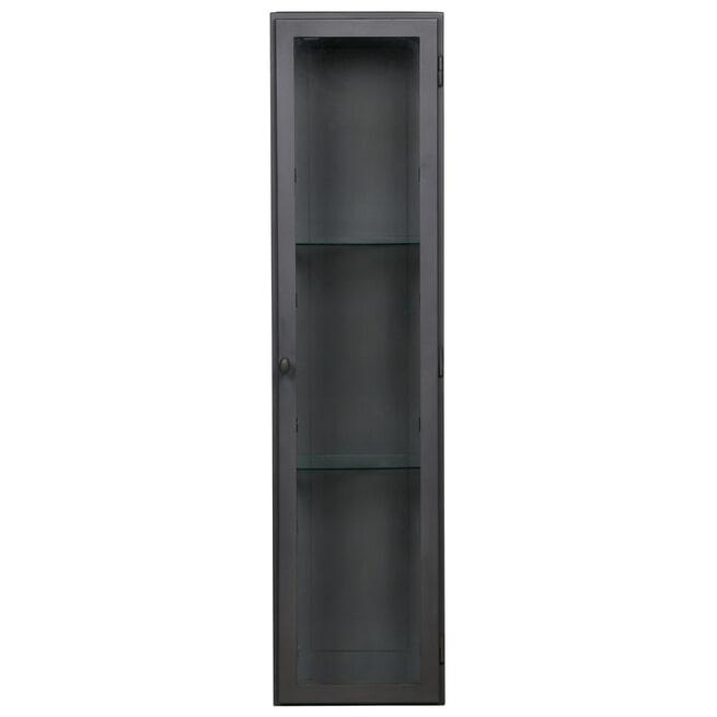 BePureHome Hangende Vitrinekast 'Manta' XL, kleur Grijs