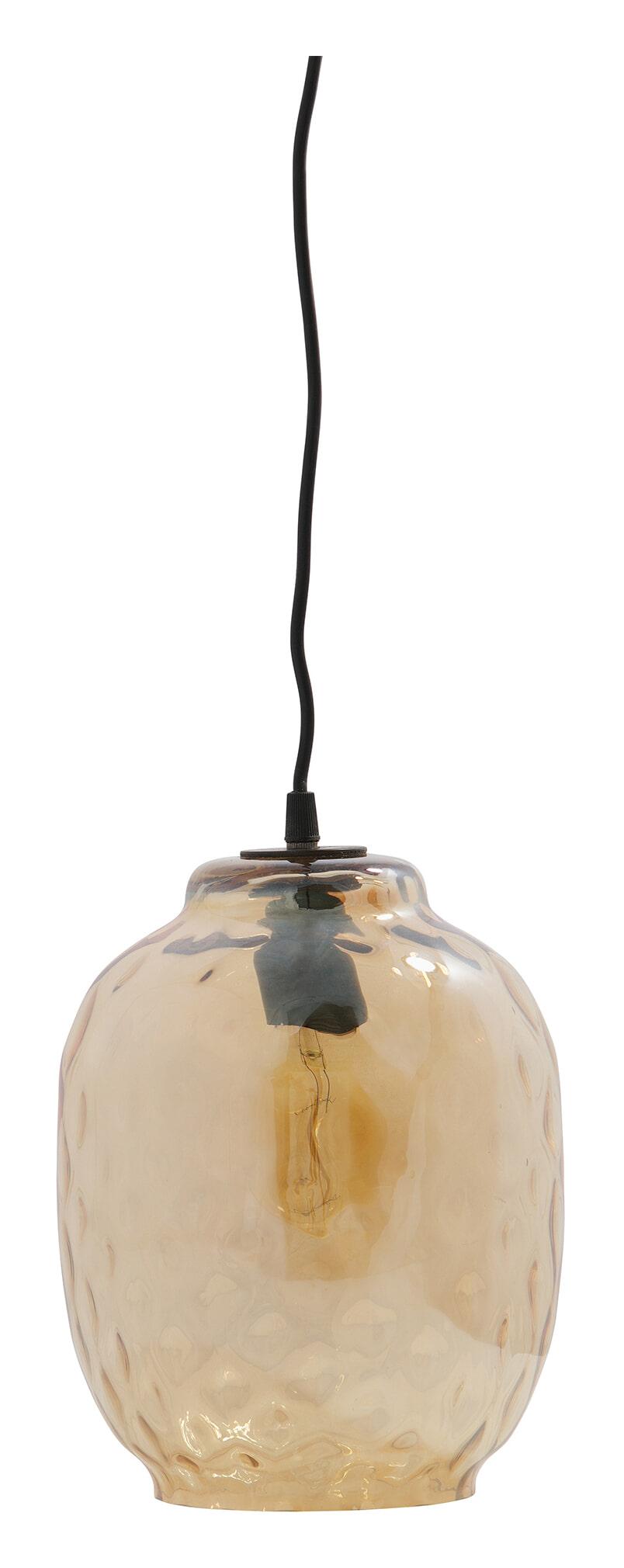 BePureHome Hanglamp 'Bubble', kleur Antique Brass Glas aanschaffen? Kijk hier!