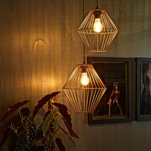 BePureHome Hanglamp 'Elegant XL', kleur Koper