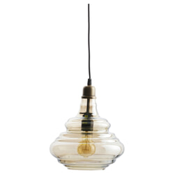 BePureHome Hanglamp 'Pure' Glas, kleur Antique Brass