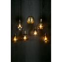 BePureHome Hanglamp 'Simple' Glas Medium, kleur Antique Brass