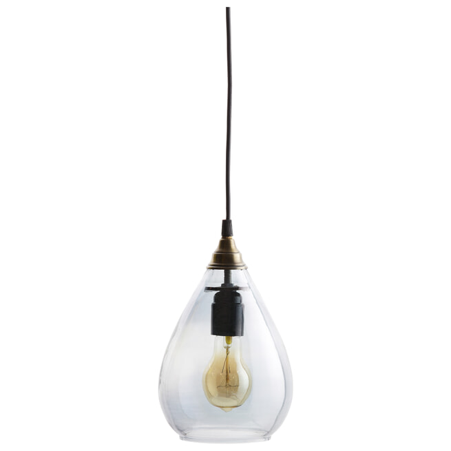 BePureHome Hanglamp 'Simple' Medium, kleur Grijs