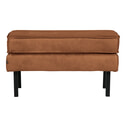 BePureHome Hocker 'Rodeo' Eco leder