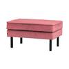 BePureHome Hocker 'Rodeo' Velvet, kleur Roze