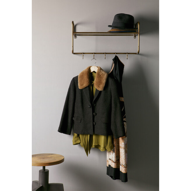 BePureHome Kapstok 'Hatstand', Antique Brass