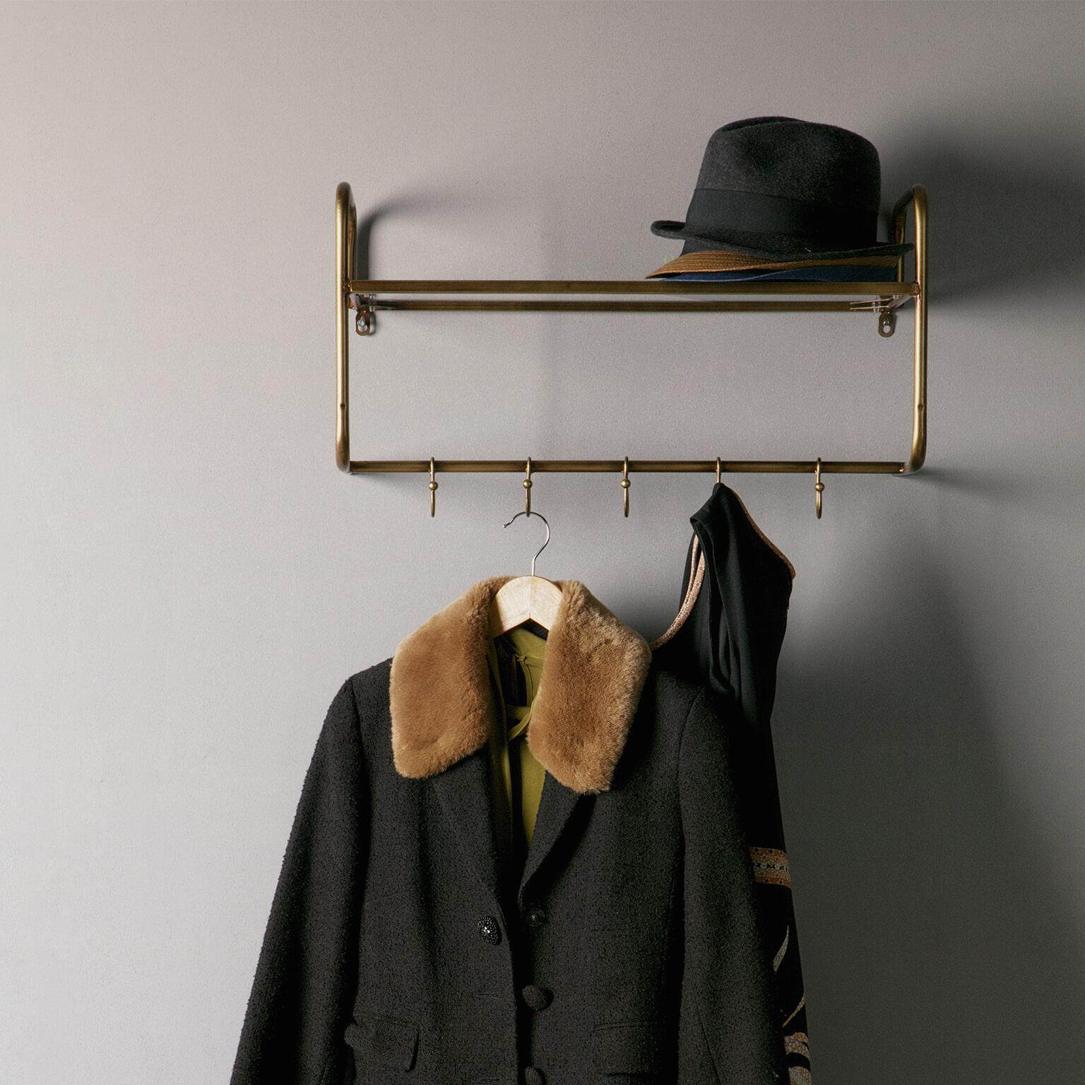 BePureHome Kapstok 'Hatstand', Antique Brass
